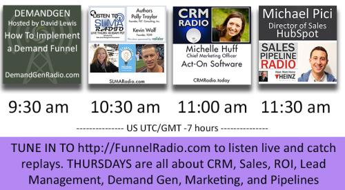 FunnelRadio lineup July 27, 2017