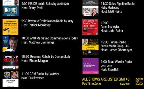 Tweet-todays-funnelradio-lineup-20190502