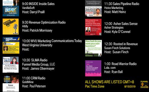 Tweet-dodays-funnelradio-lineup-20190815