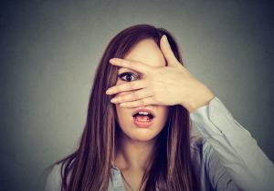 Women Hand Eye