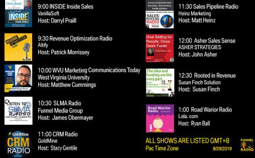 Tweet-todays-funnelradio-lineup-20190829