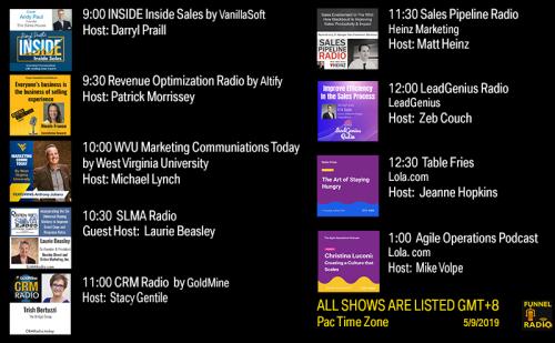 Tweet-todays-funnelradio-lineup-20190509