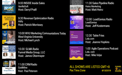 Tweet-todays-funnelradio-lineup-20190613