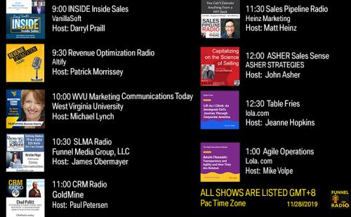 Tweet-todays-funnelradio-lineup-20191127