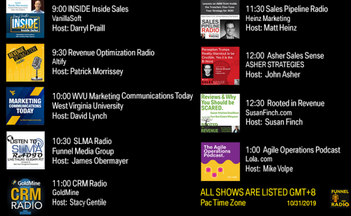 Tweet-todays-funnelradio-lineup-20191031
