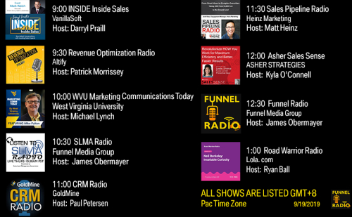 Tweet-todays-funnelradio-lineup-20190919