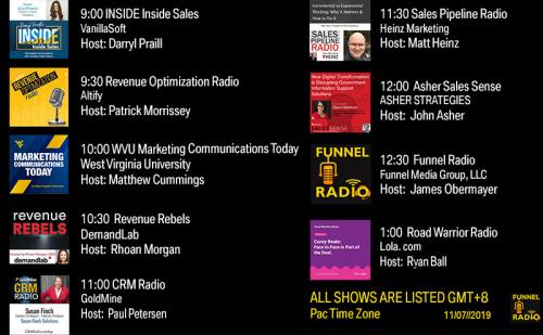 Tweet-todays-funnelradio-lineup-20191107