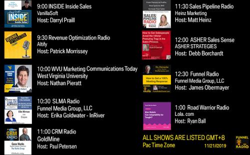 Tweet-todays-funnelradio-lineup-20191121