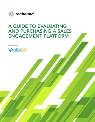 Tenbound Sales Engagement Overview - VanillaSoft-Cover