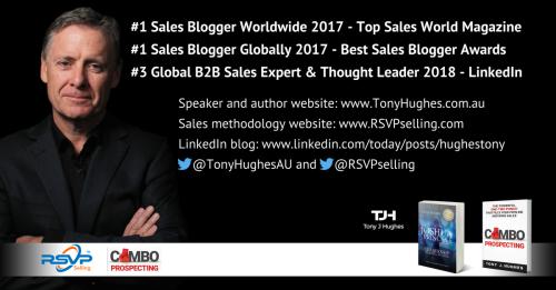 Tony+J+Hughes+#1+in+B2B+sales